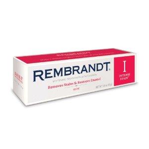 rembrandt toothpaste intense stain