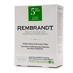 rembrandt whitening strips