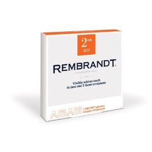 rembrandt whitening kit